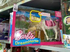 BARBIE DREAM HORSE TOY