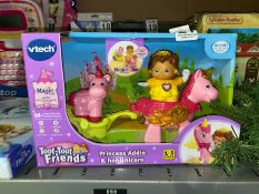 VTECH TOOT TOOT FRIENDS PRINCESS ADDIE AND UNICORN TOY