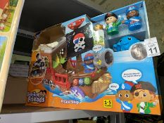 TOOT TOOT FRIENDS PIRATE SHIP TOY