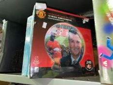 SEALED 3D MANCHESTER UNITED PUZZLE