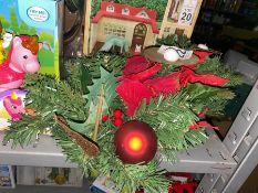 CHRISTMAS CANDLE STAND
