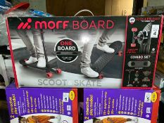 MORF BOARD SCOOT AND SKATE