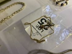 9 CARAT GOLD TRACE LINK CHAIN