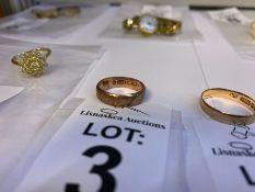 9 CARAT ROSE GOLD WEDDING BAND