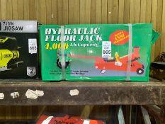 NEW 4000LB HYDRAULIC FLOOR JACK