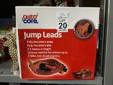 SET OF AUTO CARE JUMP LEADS