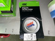 LOT OF 10 MAGNETIC TAX DISC HOLDERS