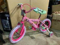 "14"" LOL SURPRISE BIKE WITH STABILISERS (EX-DISPLAY)"