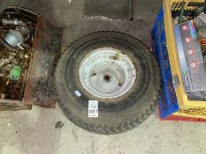 LAWNMOWER WHEEL AND TYRE