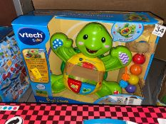 VTECH BABY ROCK AND POP TURTLE