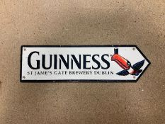 GUINNESS TOUCAN CAST IRON SIGN