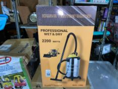 WET & DRY HOOVER 2200W (NEW)