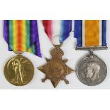1915 Star Trio to 27814 Pte E Atkinson Liverpool Regt. Died of Wounds 9/10/1916 with the 12th Bn.