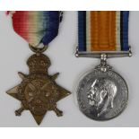 1914 Star and BWM to 3185 Pte W R Waddington C.Gds. KIA 15/9/1916 with the 3rd bn. Born