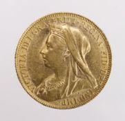 Sovereign 1899 aEF