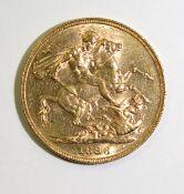Sovereign 1886M EF