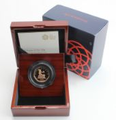 """Fifty Pence 2019 """"Shape of a Revolution"""" Gold Proof FDC boxed as issued"""