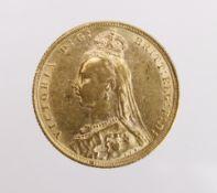 Sovereign 1889 GVF