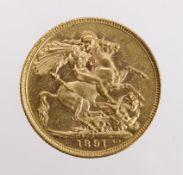 Sovereign 1891M GVF