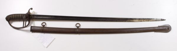 Artillery Officers Sword 1821 Pattern, formerly the property of Lt Col Walter Miller Lambert RMA