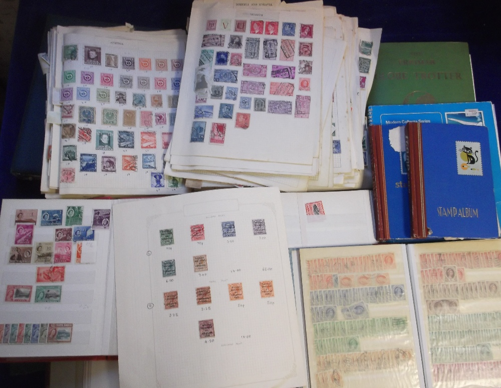 Lot 28 - Stamps, a large accumulation of GB and Worldwide stamps in various albums and stockbooks, also on