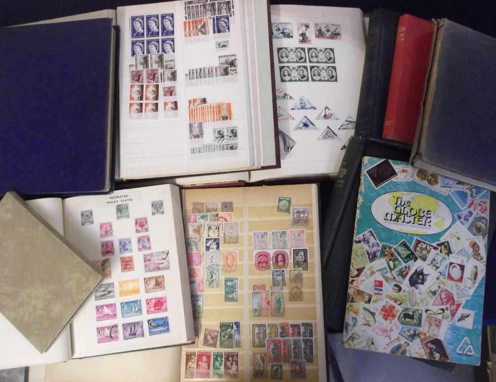 Lot 29 - Stamps, a large accumulation of Worldwide stamps in albums and stockbooks early 1900's onwards, mint