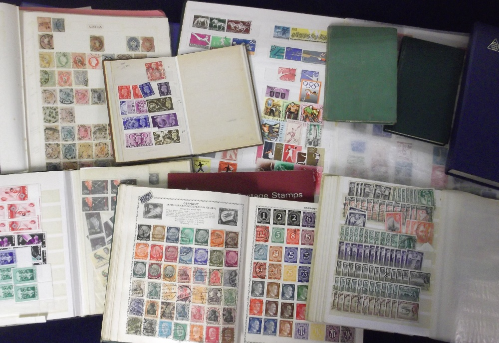 Lot 39 - Stamps, a large collection of GB & Worldwide stamps, mint and used contained in approx. 15 stamp