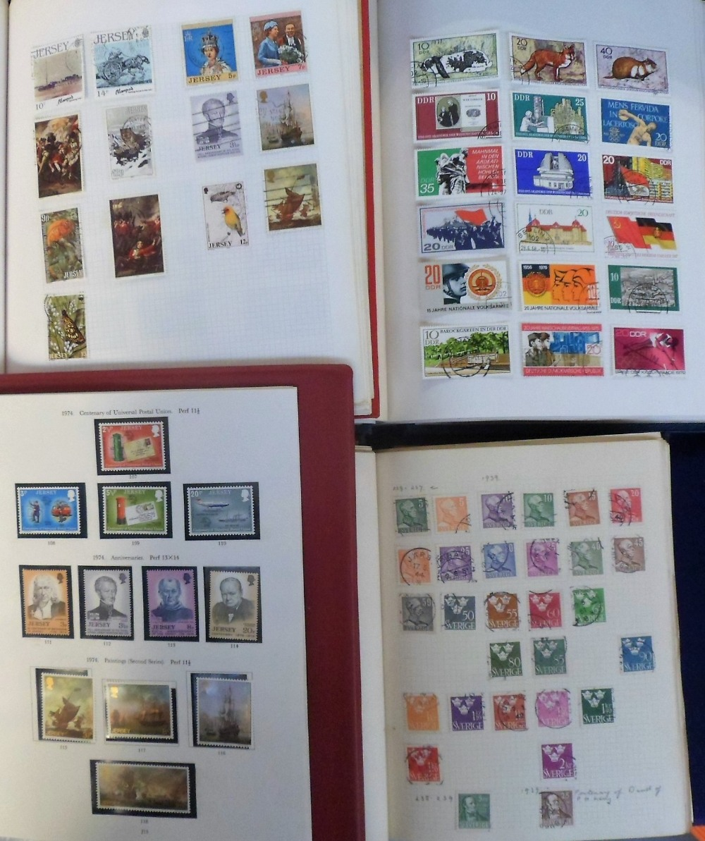 Lot 25 - Stamps, three large boxes containing a collection of GB & World stamps, 1860's onwards in various