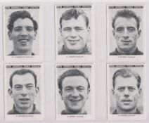 Trade cards, News Chronicle, Footballers, Southend (set, 12 cards) (vg)