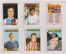 Trade cards, A&BC Gum, Footballers (Orange/Red, 110-219) (set, 110 cards) (vg/ex, checklist