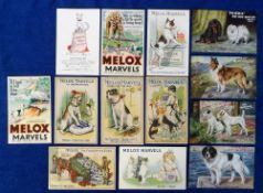 Postcards, Advertising, a good dog food selection of 13 cards inc. Viscan & Phoenix meaty biscuits