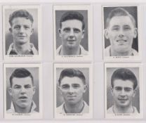 Trade cards, News Chronicle, Footballers, Swansea (set, 12 cards) (vg)