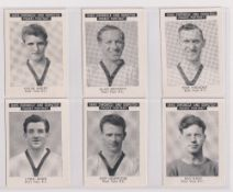 Trade cards, News Chronicle, Footballers, Port Vale FC (undated, set, 12 cards) (vg)