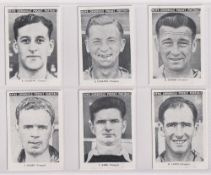 Trade cards, News Chronicle, Footballers, Torquay (set, 12 cards) (vg)