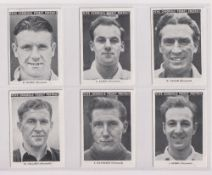 Trade cards, News Chronicle, Footballers, Weymouth (set, 12 cards) (vg)