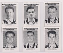 Trade cards, News Chronicle, Footballers, Newcastle United (set, 12 cards) (gd/vg)