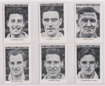 Trade cards, News Chronicle, Footballers, Reading (set, 12 cards) (gd/vg)