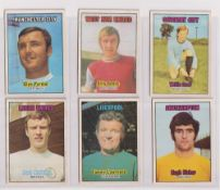 Trade cards, A&BC Gum, Footballers (Orange back, two sets 1-85 & 86-170) (mixed condition, one poor,