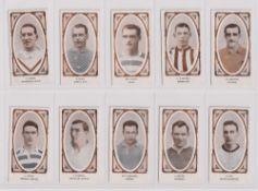 Trade cards, Filshill, Footballers (set, 25 cards) (gd/vg)