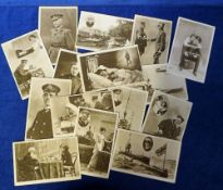 Postcards, Advertising, Yes or No (Periodical, circa 1915), 14 different sepia cards with WW1