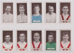 Cigarette cards, Pattreiouex, Footballers Series (Brown caption) (63/100) (a few slightly grubby