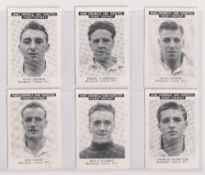 Trade cards, News Chronicle, Footballers, Stockport County FC (set, 17 cards) (vg)