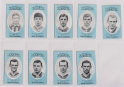 Cigarette cards, Cope's, Noted Footballers (Clips, 500 subjects), 17 cards, Middlesbrough (8), nos