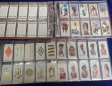 Cigarette cards, Ogden's, album containing 12 sets, Children of All Nations, Colour in Nature,