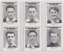 Trade cards, News Chronicle, Footballers, Rochdale FC (set, 12 cards) (vg)