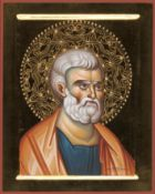 Andromachi Voutsina (Greek), Saint Peter the Apostle,, Tempera, 30 x 24 cm