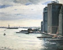 Constantinos Kerestetzis (Greek), New York, 2006, oil on cardboard, 40 x 50 cm