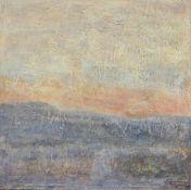 """""""Sublimation"""" de Ott Neuens (né en 1944)Artiste peintre luxembourgeoisŒuvre sur toile, technique"""