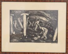 Henri Rabinger (1895-1966)Artiste peintre et illustrateur luxembourgeoisLithographie monochrome