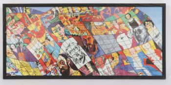 Hommage à Matisse de Gudmundur Erro (né en 1932)Artiste islandais postmoderneEstampe pigmentaire